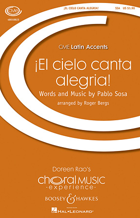 El Cielo Canta Alegria! : 2-Part : Roger Bergs : Sheet Music : 48018824 : 073999398540