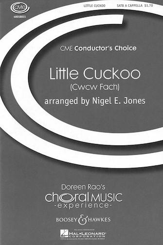 Little Cuckoo : SATB : Nigel Jones : Sheet Music : 48018831 : 073999547054