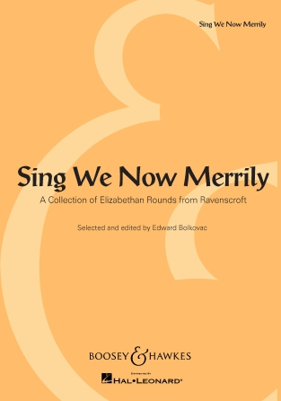 Product Cover for Sing We Now Merrily