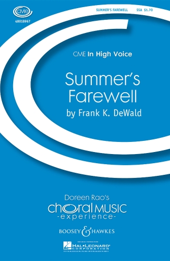 Summer's Farewell : SSA : Frank K. DeWald : Sheet Music : 48018967 : 073999290998