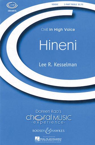 Hineni : 2-Part : Lee Kesselman : Sheet Music : 48018974 : 073999240832