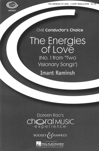 The Energies of Love : SATB : Imant Raminsh : Imant Raminsh : Sheet Music : 48018975 : 073999946994
