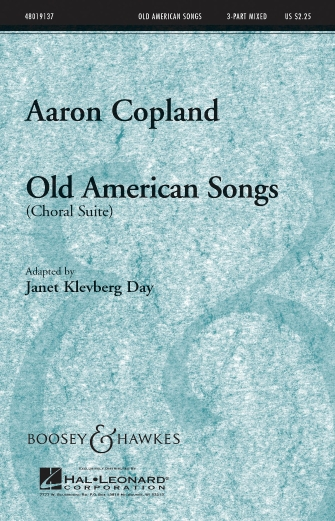 Product Cover for Old American Songs (Choral Suite)