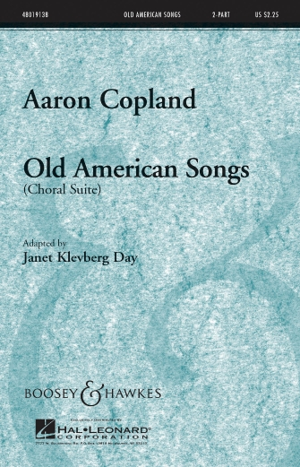 Old American Songs (Choral Suite) : 2-Part : Janet Day : Sheet Music : 48019138 : 884088055080