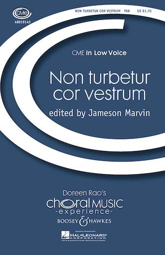 Non Turbetur Cor Vestrum : TBB : 48019143 : Sheet Music : 48019143 : 884088057794