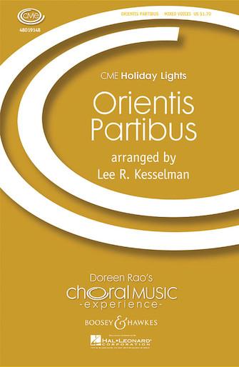 Orientis Partibus (Processional) : SATB : Lee R. Kesselman : Sheet Music : 48019148 : 884088061555