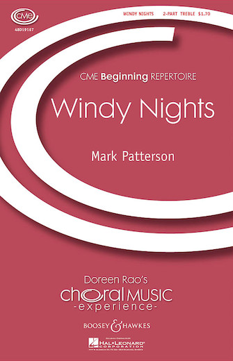 Windy Nights : 2-Part : Mark Paterson : Sheet Music : 48019167 : 884088071905