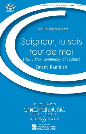 Seigneur, Tu Sais Tout de Moi : SSAA : Imant Raminsh : Sheet Music : 48019350 : 884088115227