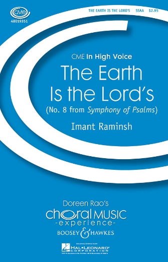 The Earth Is the Lord's : SSAA : Imant Raminsh : Sheet Music : 48019351 : 884088115302