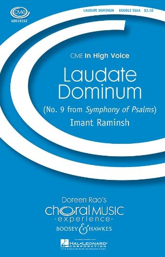 Laudate Dominum : SSAA : Imant Raminsh : Sheet Music : 48019352 : 884088115319