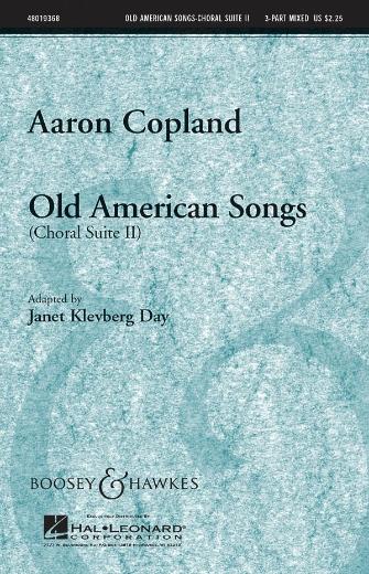 Old American Songs (Choral Suite II) : 3-Part : Janet Klevberg Day : Sheet Music : 48019368 : 884088126483