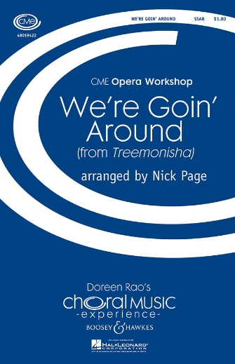 We're Goin' Around : SSAB : Nick Page : Scott Joplin : Sheet Music : 48019422 : 884088135928