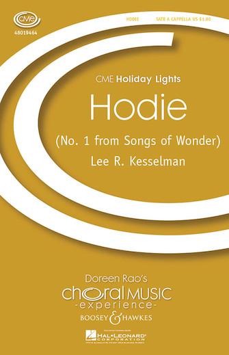 Hodie : SATB : Lee Kesselman : Sheet Music : 48019464 : 884088153380