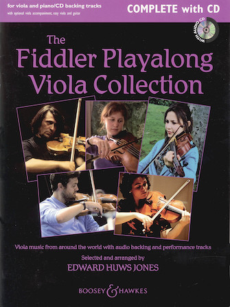 Product Cover for The Fiddler Play-Along Viola Collection