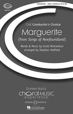 Marguerite : SATB : Stephen Hatfield : Sheet Music : 48019624 : 884088168742