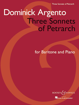 Product Cover for Three Sonnets of Petrarch