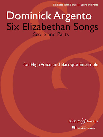 Product Cover for Six Elizabethan Songs