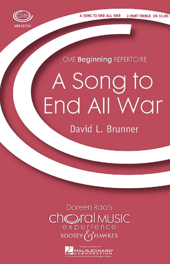 Product Cover for A Song to End All War