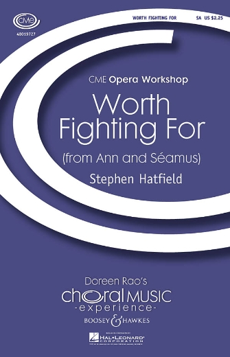 Worth Fighting For : SA : Stephen Hatfield : Stephen Hatfield : Sheet Music : 48019727 : 884088221041
