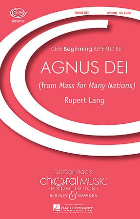 Product Cover for Agnus Dei