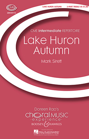 Lake Huron Autumn : SSA : Mark Sirett : Mark Sirett : Sheet Music : 48019774 : 884088240929