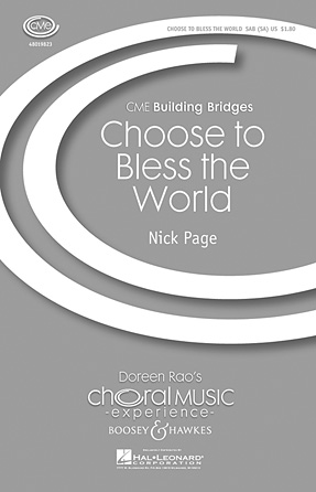 Product Cover for Choose to Bless the World
