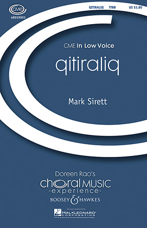 qitiraliq : TTBB : Mark Sirett : Mark Sirett : Sheet Music : 48019901 : 884088279714