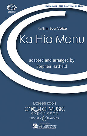 Ka Hia Manu : TTBB : Stephen Hatfield : Sheet Music : 48019909 : 884088281229