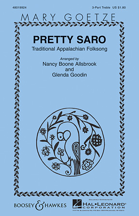 Pretty Saro : SSA : Nancy Boone Allsbrook : Sheet Music : 48019924 : 884088284220