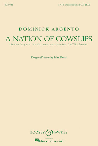 Product Cover for A Nation of Cowslips