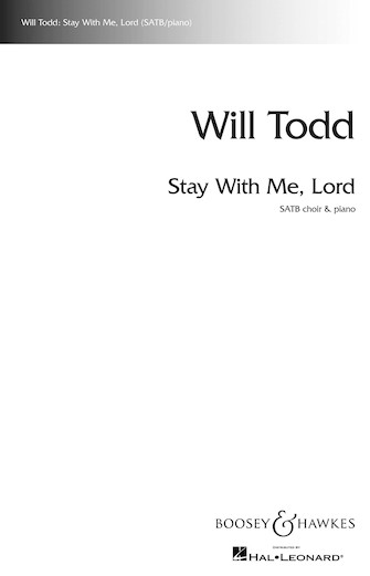 Product Cover for Stay with Me, Lord