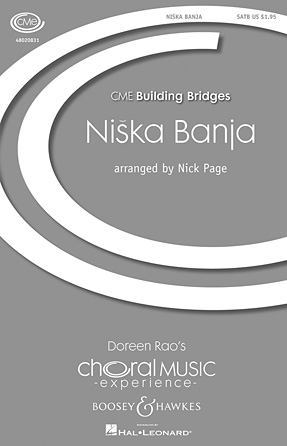 Niska Banja : SATB : Nick Page : Sheet Music : 48020831 : 884088498184 : 1423477006