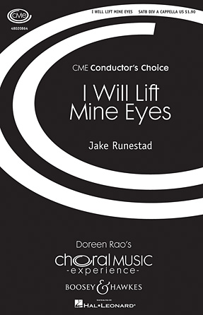 Product Cover for I Will Lift Mine Eyes