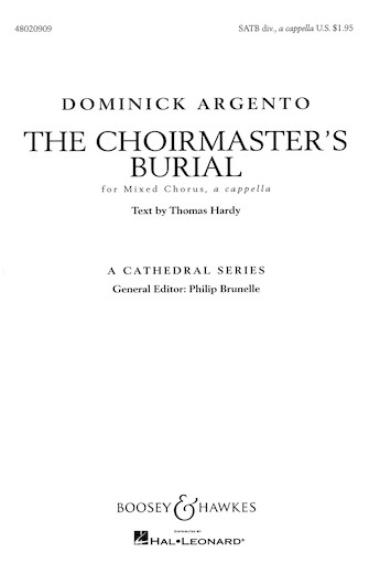 Product Cover for The Choirmaster's Burial