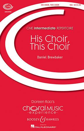 Product Cover for His Choir, This Choir