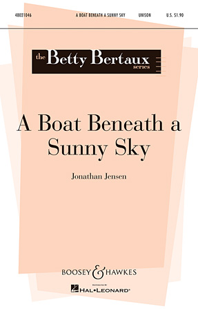 Product Cover for A Boat Beneath a Sunny Sky