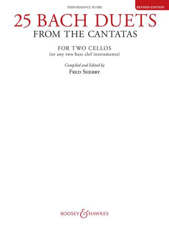 Product Cover for 25 Bach Duets from the Cantatas (Revised Edition)