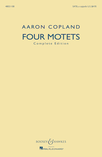 Product Cover for Four Motets
