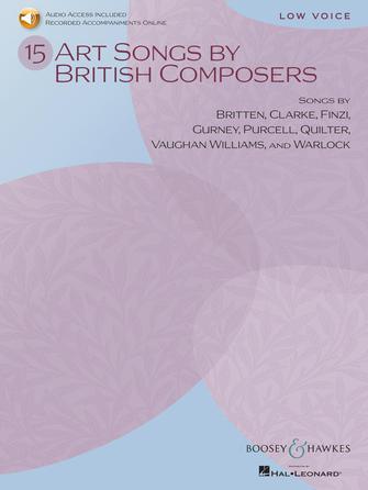 Product Cover for 15 Art Songs by British Composers