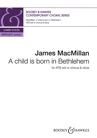 Product Cover for A child is born in Bethlehem