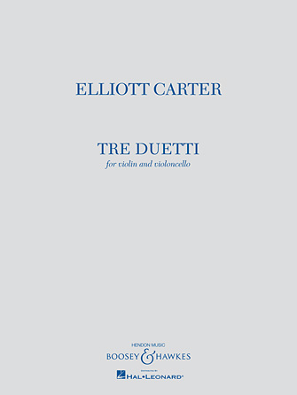 Product Cover for Tre Duetti
