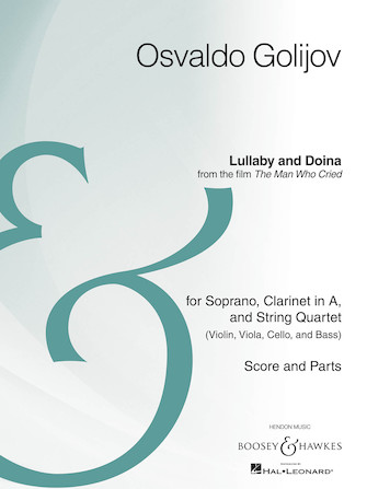 Product Cover for Lullaby and Doina from the film The Man Who Cried
