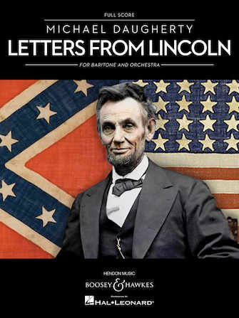 Product Cover for Letters from Lincoln for Baritone and Orchestra