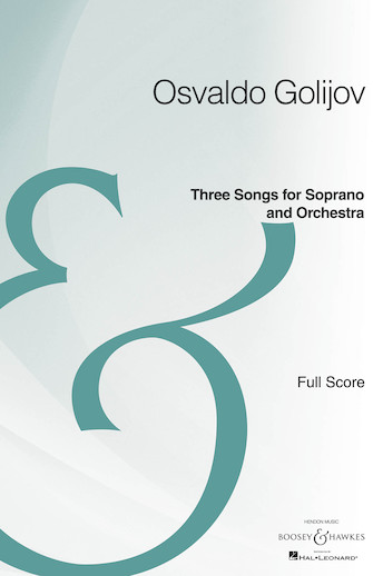 Product Cover for Three Songs for Soprano and Orchestra