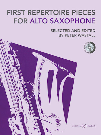 Product Cover for First Repertoire Pieces for Alto Saxophone