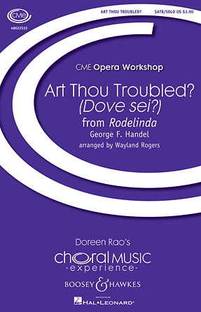 Art Thou Troubled? (Dove sei?) : SATB divisi : Wayland Rogers : George Frideric Handel : Sheet Music : 48022532 : 884088674625