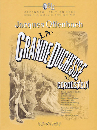 Product Cover for La Grande Duchesse de Gerolstein, Vol. 1