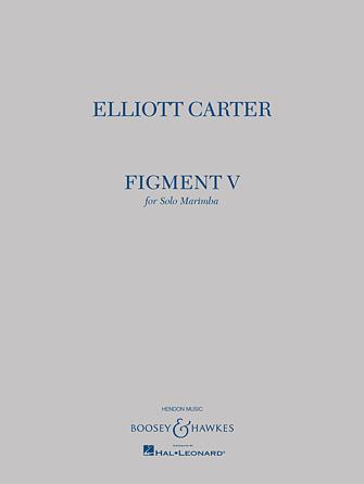 Product Cover for Elliott Carter – Figment V