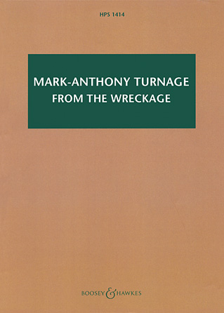 Product Cover for Mark-Anthony Turnage - From the Wreckage