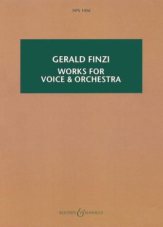 Product Cover for Works for Voice and Orchestra